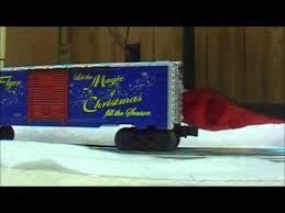 lionel santas flyer lionel santas flyer train set youtube