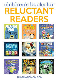 Books for 2nd grade Boy Reluctant Reader