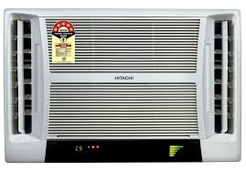 air conditioning window. hitachi window air conditioner (ac) looks conditioning a