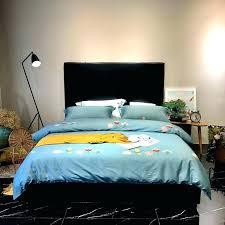 green duvet cover sets dark flowers bedding set queen king size cotton fabric linen forest