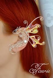 Little butterfly ear cuff in <b>2019</b> | Products | Ear jewelry, Elf ear cuff ...