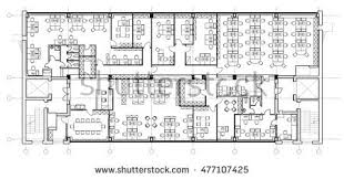 office furniture plans. standard office furniture symbols set used in architecture plans planning icon graphic