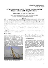 Fpso Design Guidance Notes Pdf Installation Engineering Of Topside Modules On Ship