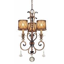 minka lavery aston court 3 light bronze mini chandelier