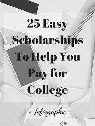 easyscholarshipsto help youpay for college college tips  2000 no essay college scholarship 25 easy scholarships to help you pay for college