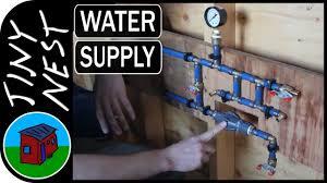 tiny house plumbing. Tiny House Water Supply Plumbing (Ep.31)