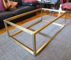 Custom Metal Modern Coffee Table Base Andrew Stansell Design With Coffee  Table Base