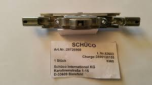 Schüco Kammergetriebe Für Kunststofffenster In Silber