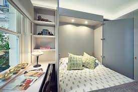 home office and guest room. small home office transformed into a cool guest room design sarah fortescue designs and
