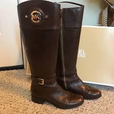 mk stockard leather riding boot m 59ea2e3c291a35174401895c