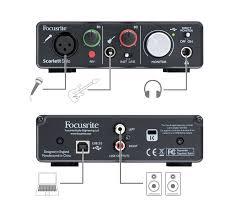 focusrite scarlett solo usb audio interface dvestore scarlett solo setup diagrams png