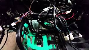china 110 taotao 125g wire harness replacement pt3 youtube wiring diagram taotao 110cc at Tao Tao 110 Wiring Harness