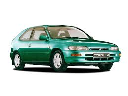 TOYOTA COROLLA 1.3 GS 3dr (1995-1997) Technical Data | Motorparks