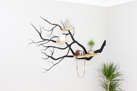 tree branch wall decal with floating