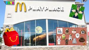 mcdonalds building playplace. Perfect Mcdonalds McDonaldu0027s Play Place Indoor Playground For Kids Happy Meal The Secret Life  Of Pets Toys To Mcdonalds Building Playplace A