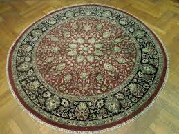 round rugs area rug decorative target large wool ft grey and white navy decoration black foot circular accent dining room s carpet bedroom