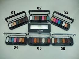 mac cosmetics 8 colors eye shadow