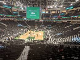 Fiserv Forum Seating Chart Milwaukee Bucks Fiserv Forum Section 110 Milwaukee Bucks Rateyourseats Com