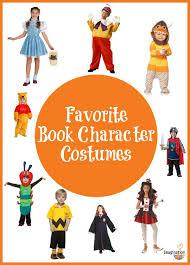 favorite book character costumes
