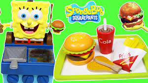 fast food maker spongebob squarepants krabby patty grill with imagination fast food