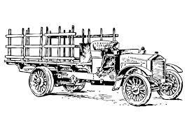 Kleurplaten Oude Tractoren