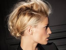 Photo Coiffure Rock N Roll Femme Cheveux Court Coupe De