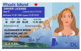 On Driver Psd Template … Is Usa usa photoshop Novelty In Put Rhode You 2019… Can This State Template Island Drivers License