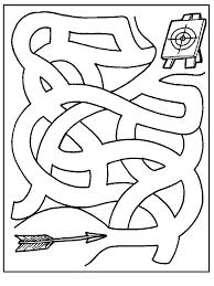 Labirinto Per Bambini Az Colorare