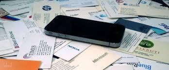 Use Your Mobile Phone As A Business Card Scanner
