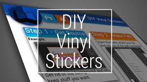 create vinyl stickers. Fine Vinyl DIY Vinyl Stickers And Create M