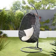 furniture hanging rattan egg chair shocking amazing hanging basket chair photos restaurantcom image of rattan egg