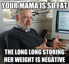 Perplexed Dennis Ritchie memes | quickmeme via Relatably.com