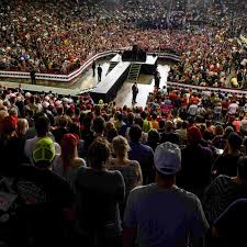 Fan And Light World Evansville Indiana Evansville Trump Rally Got Ford Centers Largest Ever Crowd