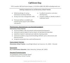 Sample Resume For Highschool Students With No Work Experience Free