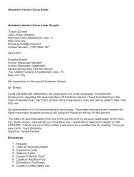 Sample Academic Cover Letter   wikiHow Resume Genius Lovely Cover Letter For College Academic Advisor Position    With  Additional Example Cover Letter For Internship with Cover Letter For  College Academic