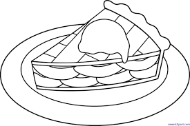 apple pie clip art black white. Clip Library Stock All Art Archives Page Of Sweet Banner Transparent Desserts Cliparts Apple Pie Clipart Black And White On