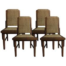 furniture art deco style. Viyet - Designer Furniture Seating Vintage Woven Bamboo Art Deco Style Chairs