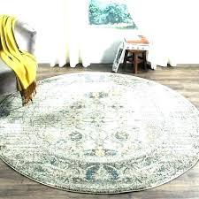 8 feet round rugs foot rug target