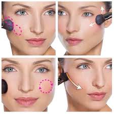 simple steps for natural makeup apply blush