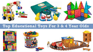 Top Educational Toys For 3 And 4 Year Olds To Learn Grow