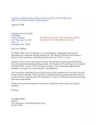 Cover Letter Sample For Work Visa Application Best Of Marvelous