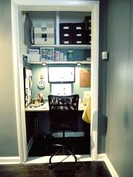 home office in a closet. Home Office Closet Ideas Computer Desk Convert To Storage In A