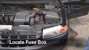 blown fuse check 1996 2000 plymouth breeze 1996 plymouth breeze replace a fuse 1996 2000 plymouth breeze
