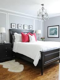 small bedroom ideas. Bedroom - Small Traditional Master Medium Tone Wood Floor Idea In Vancouver With Gray Walls Ideas Y