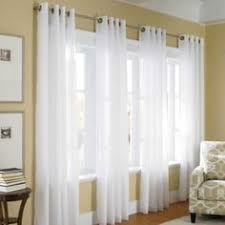 ThermaVoile Grommet Top Curtain Pair - Pretty and practical!! A great way  to save