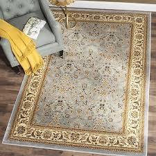 safavieh lyndhurst traditional oriental light blue ivory rug 5 3 x 7