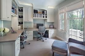 interior home office design. L-shape Home Office Design Interior