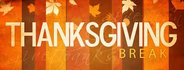 Image result for clip art thanksgiving break