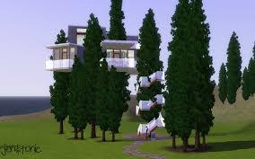 Modern Tree Houses Mod The Sims Modern Tree House