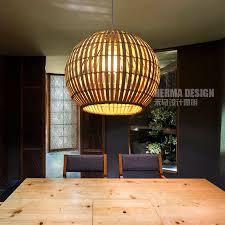 cottage pendant lighting. Simple Bamboo Cottage Pendant Lights Creative Rattan Living Lighting